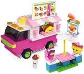 Shopkins Kinstructions Building Set: Shopville Food Fair Truck