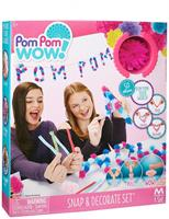 Pom Pom Wow! Snap and Decorate Set