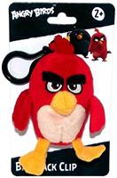 "Angry Birds Movie 4.5"" Plush Clip On: Red"