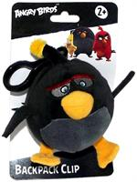 "Angry Birds Movie 4.5"" Plush Clip On: Bomb"
