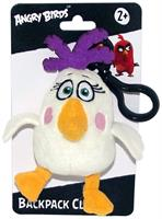 "Angry Birds Movie 4.5"" Plush Clip On: Matilda"
