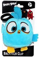 "Angry Birds Movie 4.5"" Plush Clip On: Blue"