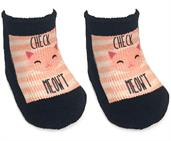 Check Meowt Baby Socks 0-6 Month