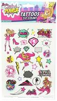 Barbie Temporary Tattoos, Single Sheet 30 Designs