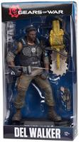 "Gears of War 4 7"" Color Tops Action Figure: Del Walker"