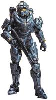 "Halo 5 Guardians Series 1 6"" Action Figure Spartan Fred"