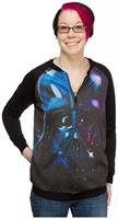 Star Wars Darth Vader Space Women's Light Jacket
