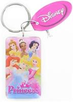 Disney Princess Rectangular Lucite Key Ring