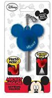 Disney Light Up Key Holder Mickey Mouse Icon Navy Blue