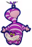 Alice In Wonderland Soft Touch PVC Key Holder: Cheshire Cat
