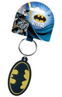 "DC Comics Soft Touch PVC Key Ring: ""Batman Logo"""
