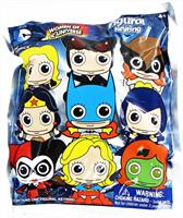 DC Comics Blind Bagged 3D Foam Figural Keychain: Women of DC Universe