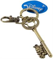 Disney Mickey Mouse and Gang Master Brass Gem Key Ring