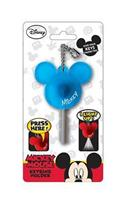 Disney Light Up Key Holder Mickey Mouse Icon Blue