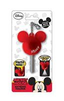 Disney Light Up Key Holder Mickey Mouse Icon Red