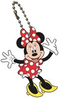 Disney Mickey Mouse Bendable Keychain Minnie