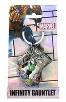 Marvel Comics Thanos Infinity Gauntlet Pewter Metal Keyring