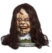 Exorcist Rotating Head Platter w/Light Up Eyes, Moving Mouth and Audio