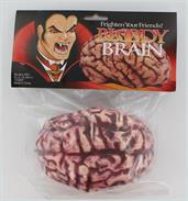 Butcher Shop Bloody Brain Plastic Halloween Prop