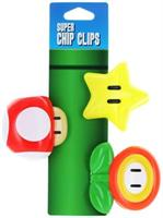 Super Mario Bros. Chip Clips, Set of 3