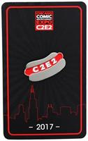 C2E2 2017 Hot Dog Enamel Collector Pin