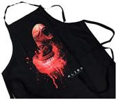 Alien Chestburster Adult Apron, Black