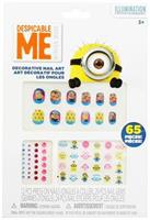 Despicable Me Minions 65-Piece Decorative Nail Art Kit