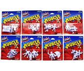 Master of the Universe M.U.S.C.L.E. Mini Figures, Set of 8 Packs (24 Figures Total) Exclusive Set
