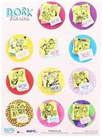 Dork Diaries Stickers, 12 Count