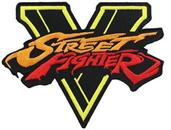 Street Fighter V Fabric Patch