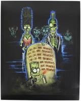 The Simpsons: Return of the Living Dead 8x10 Art Print (Horror Block Exclusive)