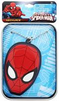 Marvel Spider-Man Printed Tin Case w/ Rubber Charm Bracelet
