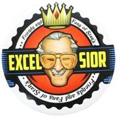 Stan Lee Excelsior Button Pin