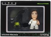 "Alien Titan 3"" Vinyl Figure 2-Pack: Pre-Suit Ripley & Acid Alien"