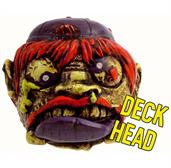 "Madballs 2"" Mini Squirter: Deck Head"