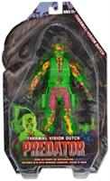 "Predator Series 11 7"" Action Figure 25Th Anniversary Thermal Vision Dutch"