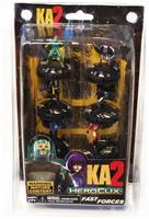 Kick Ass 2 KA2 Heroclix 6 Mini Figure Fast Forces Pack