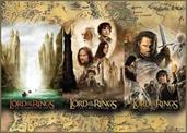The Lord of the Rings Triptych 1000 Piece Jigsaw Puzzle