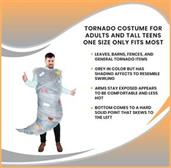 Tornado Costume For Adults and Tall Teens One Size Only Fits Most