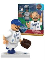 Kansas City Royals MLB OYO Sports Mini Figure: Ben Zobrist