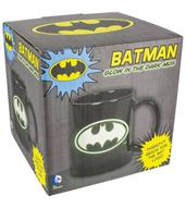 DC Comics Glow in the Dark Batman Logo 10oz. Ceramic Mug