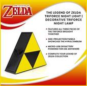 The Legend Of Zelda Triforce Night Light | Decorative Triforce Night Lamp