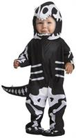 T-Rex Skeleton Infant Costume