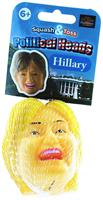Squash and Toss Stress Ball: Hillary Clinton