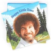 Bob Ross Classic Beverage Party Napkins | 20 Pack