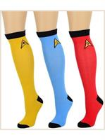 Star Trek TOS Women's Knee High Socks: 3-Pack