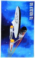 "Star Trek ""Boldly Go"" 60""x30"" Beach Towel"