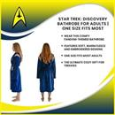 Star Trek: Discovery Bathrobe for Adults | One Size Fits Most