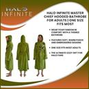 Halo Infinite Master Chief Hooded Bathrobe for Adults | One Size Fits Most