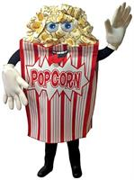 Popcorn Wavers Mascot Adult Costume
